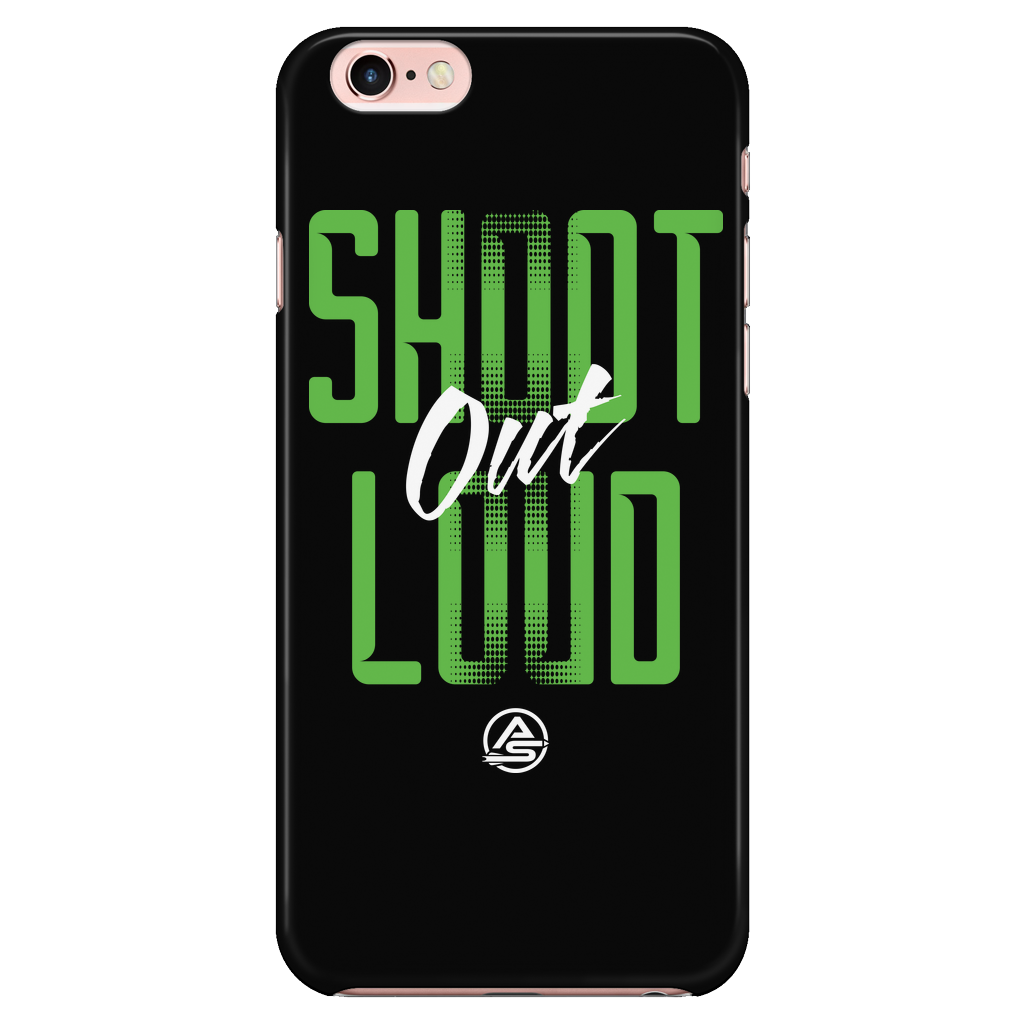 iPhone 6/6s Case - Shoot Out Loud Green - Archery Squad