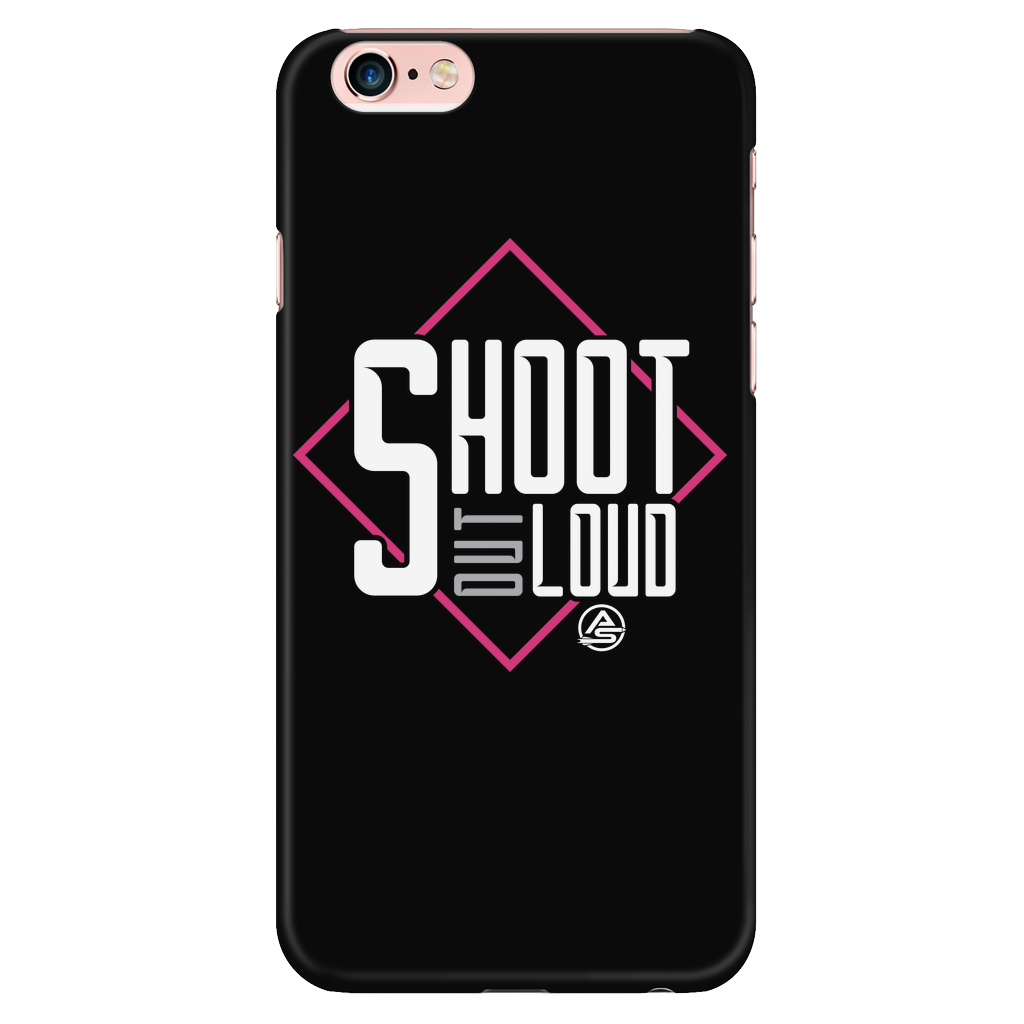 iPhone® 6 Plus /6s Plus Case - Shoot Out Loud Pink