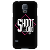 Samsung Galaxy S5 Case - Shoot Out Loud Pink - Archery Squad