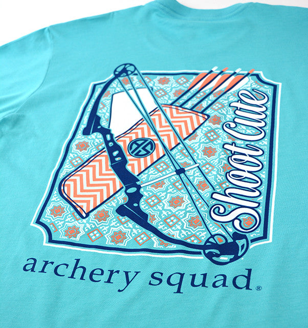 Shoot Cute Archery Shirt Simply Southern
