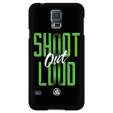 Samsung Galaxy S5 Case - Shoot Out Loud Green - Archery Squad