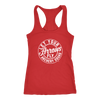 Let Your Arrows Fly Racerback Tank - Red/White
