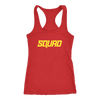 On Point Red/Yellow Racerback Tank