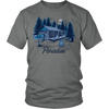 Bowhunter's Paradise Grey Tee