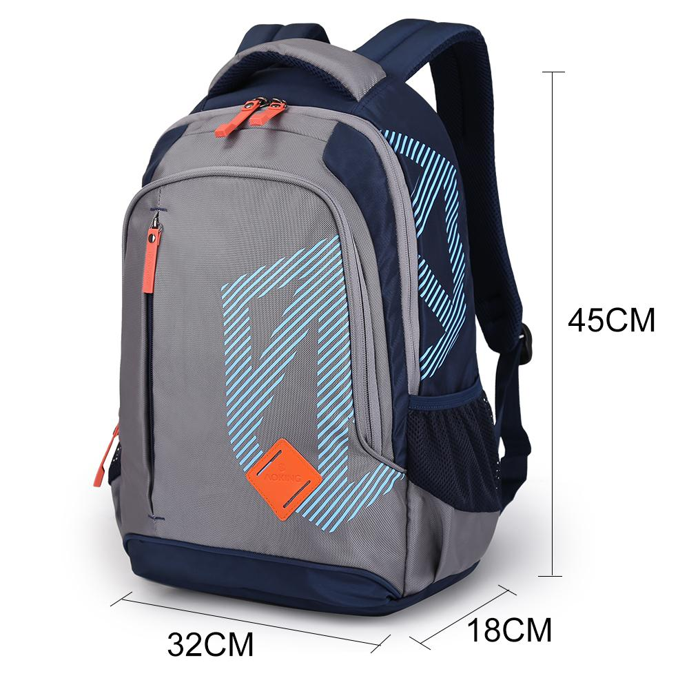 gray black Business fashion computer backpack portable leisure backpack large capacity outdoor backpack