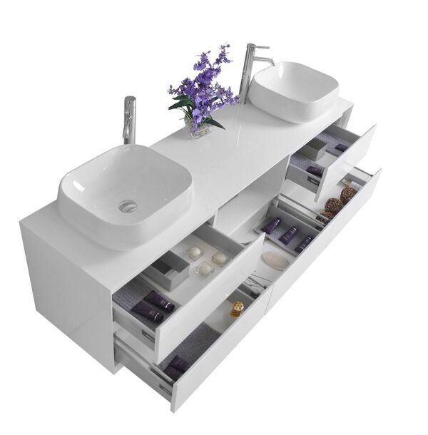 Catherine Collection Bath Vanity with Mirror