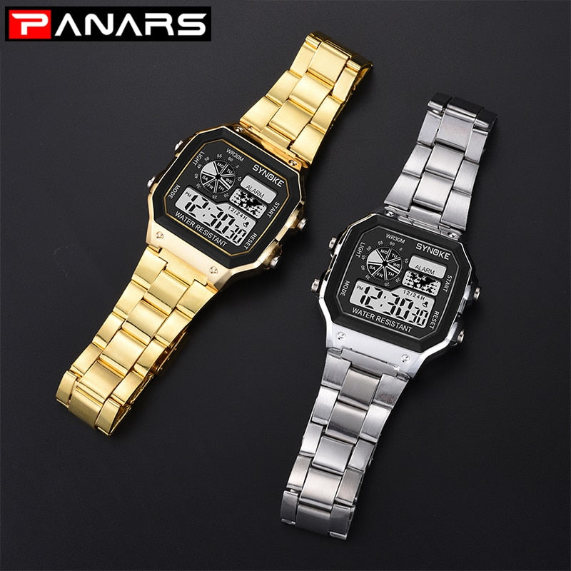 LED Digital Watch Life Waterproof unisex.