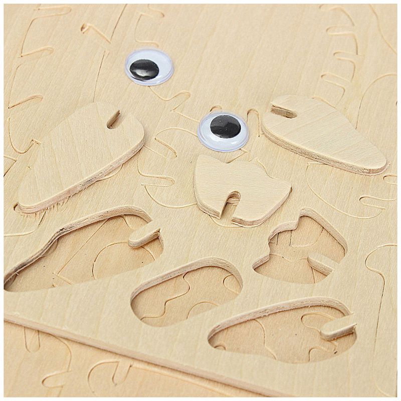 kids' toy 3D Wooden Owl Puzzle