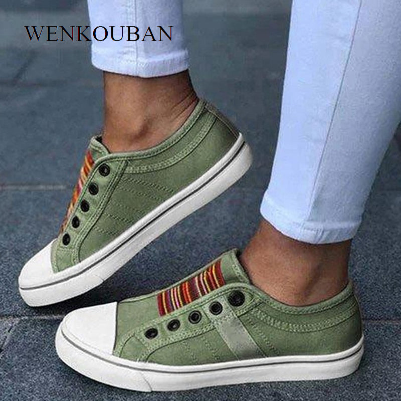 Sneakers Women Summer Flats Shoes.