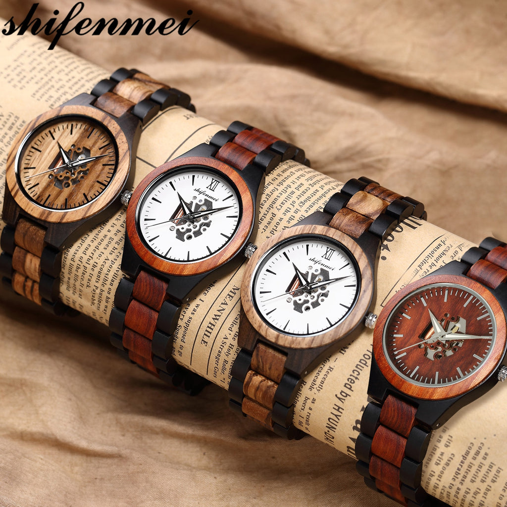 Shifenmei Wood Watches for Men.