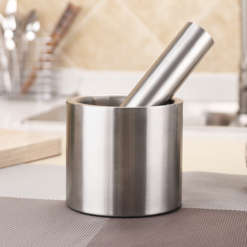 Multifunction Stainless Mortar