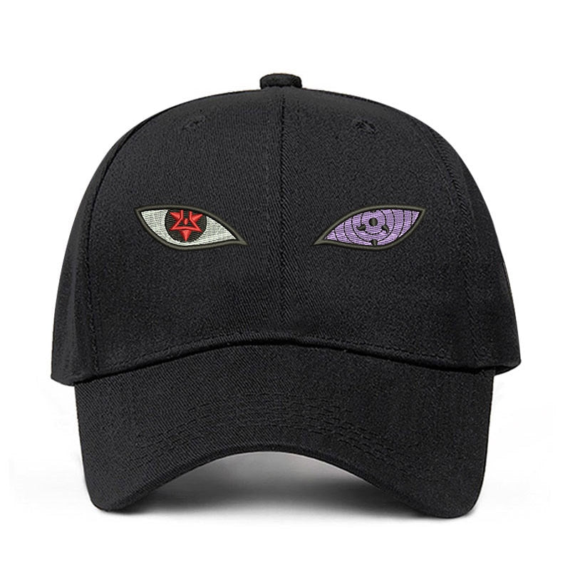 Naruto Sharingan & Rinnegan Eye Cotton Cap unisex.