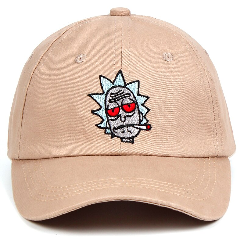 Caps Rick and Morty Adjustable High Quality Cotton.
