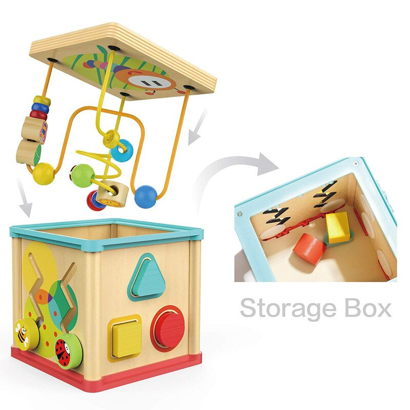 2-6 Years Old Wooden Colorful Education Puzzle