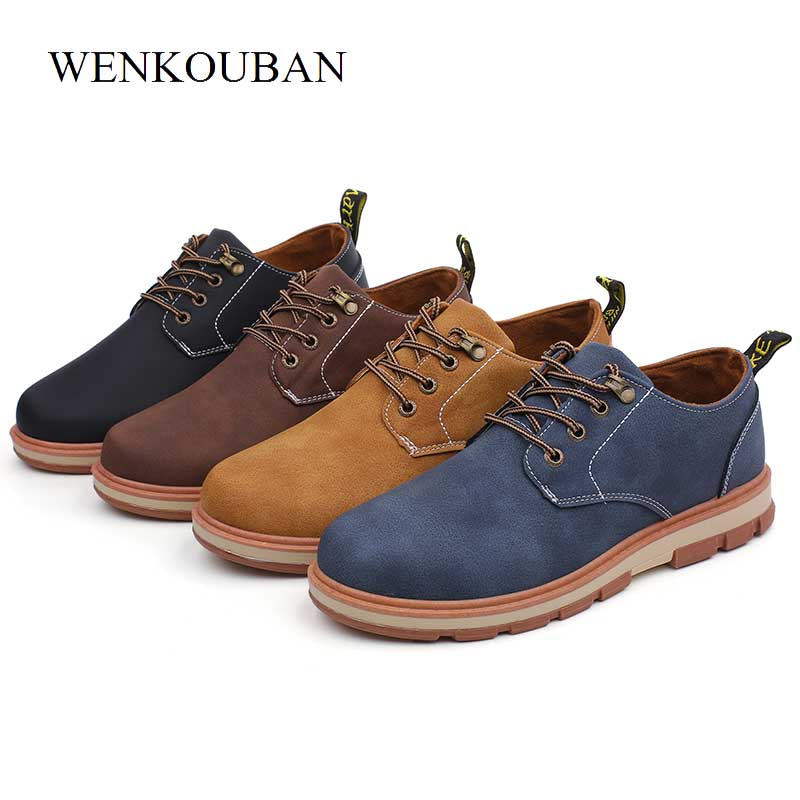 Leather Shoes Oxford For Men, Size 39-45.