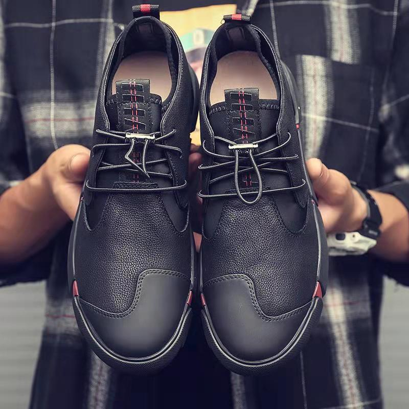 Men Shoes High Quality Casual Leather.