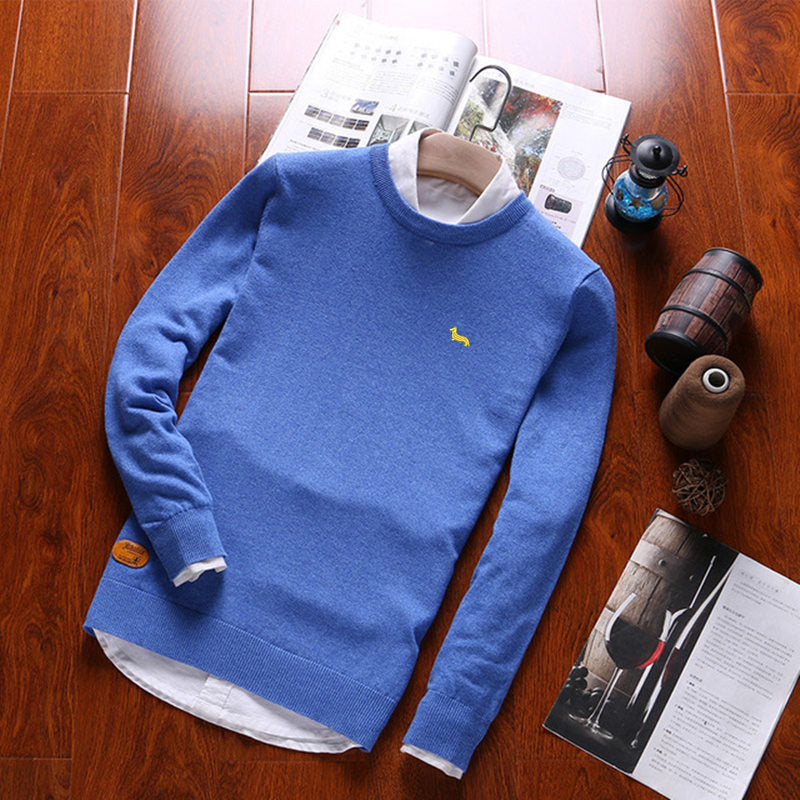 Men Pullover Sweaters 100% Cotton