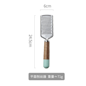 Stainless Steel Kitchen Tool With Wooden Handle