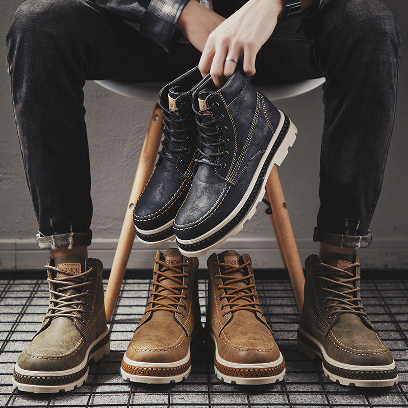 Martin Boots Men's High-top.