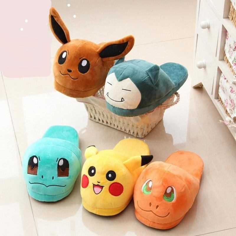 Pokemon Slippers Childrens-Adult-Unisex