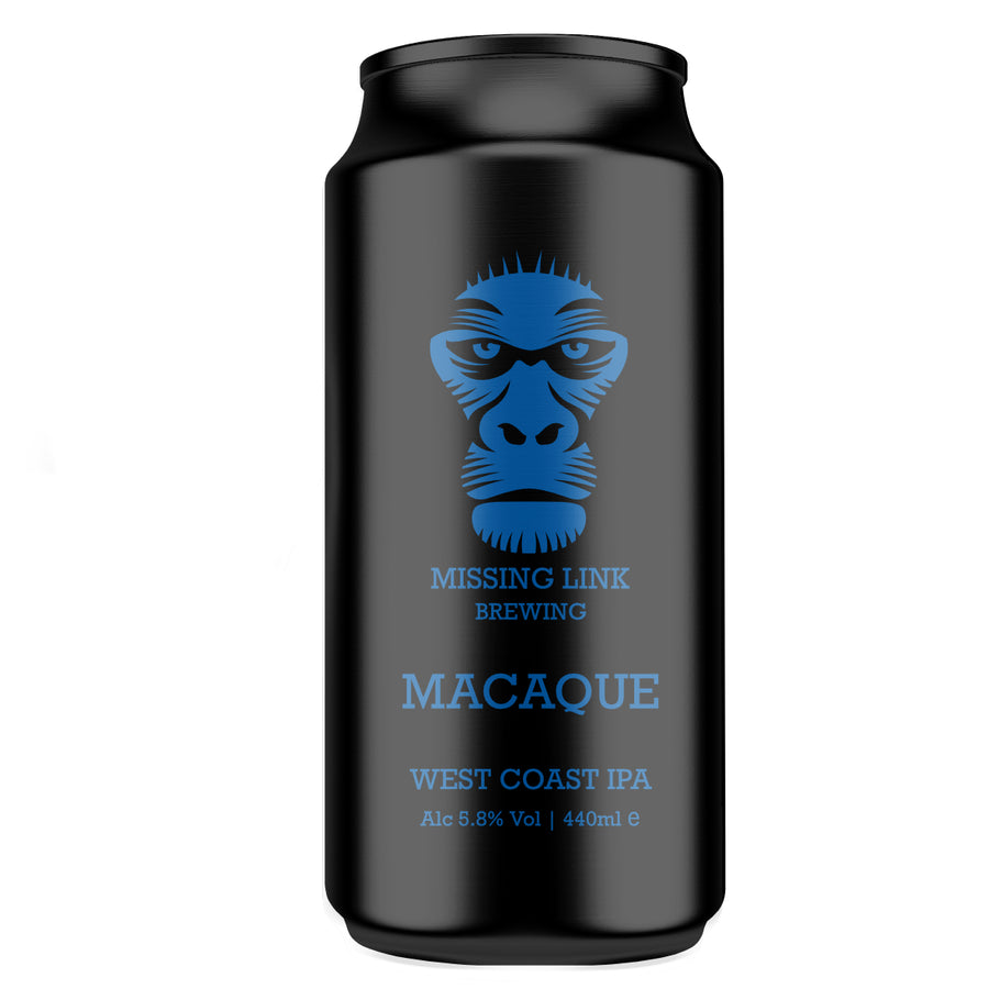 MACAQUE WEST COAST IPA 440ml 5.8%