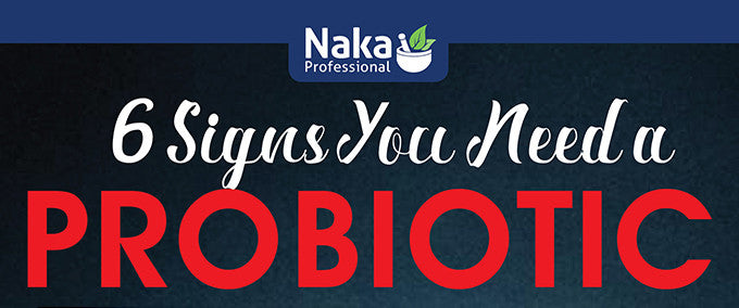 6 Signs You Need a Probiotic