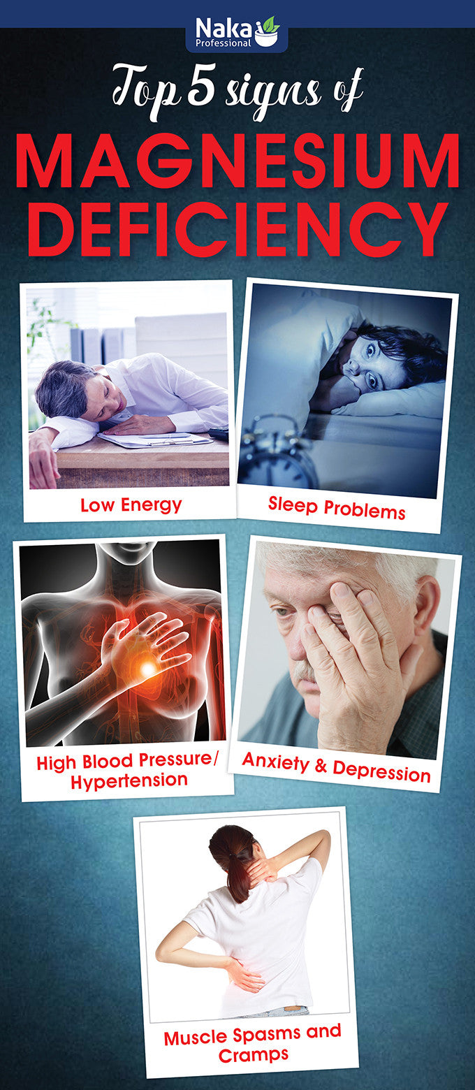 Top 5 Signs of Magnesium Deficiency