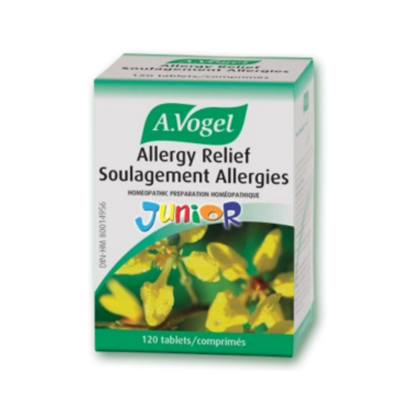 A.Vogel Allergy Relief Junior 120 Tabs