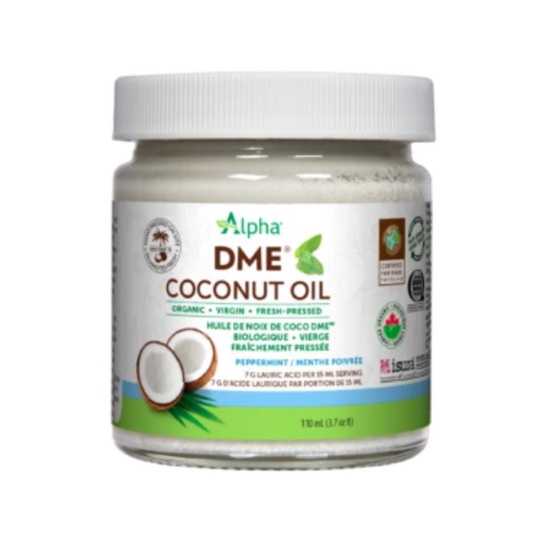 Alpha DME Coconut Oil Peppermint Flavour 110ml*