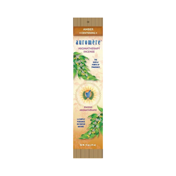 Auromere Aromatherapy Incense – AMBER – Centering