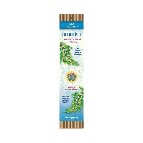 Auromere Aromatherapy Incense – LILY – Calming