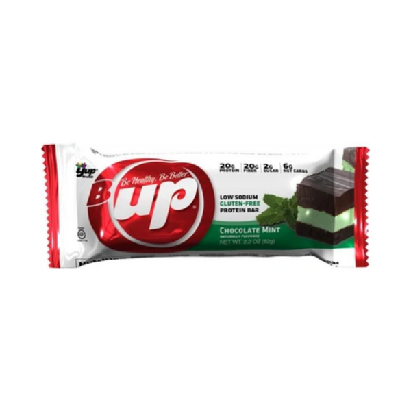 B-UP Be Healthy Chocolate Mint Protein Bar