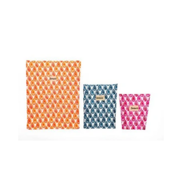 BeeBAGZ Starter Pack - Beeswax Wrap Bags