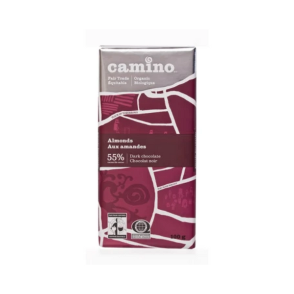 Camino Almond Chocolate 55%  100G
