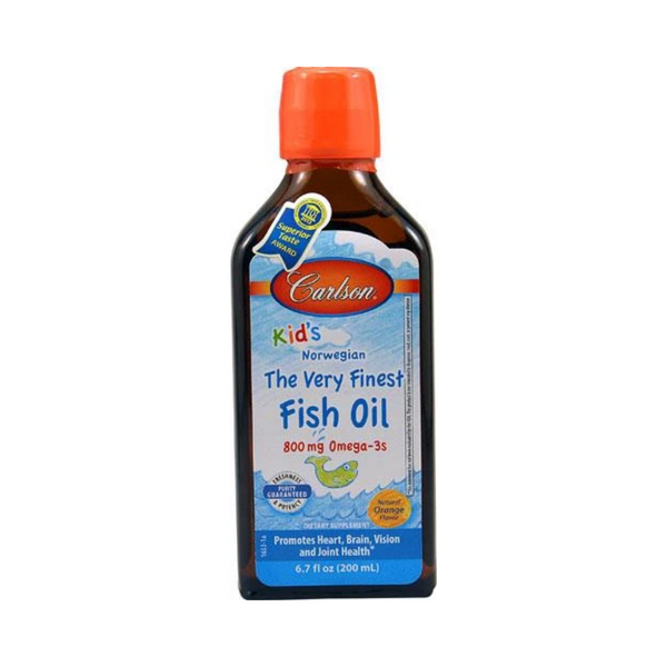 Carlson Kids Fish Oil 200ml