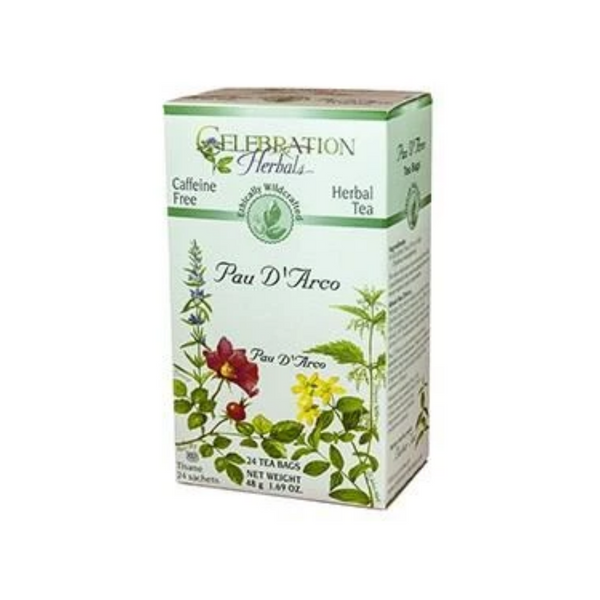 Celebration Herbals Pau D'Arco Inner Bark Tea 24 Bags