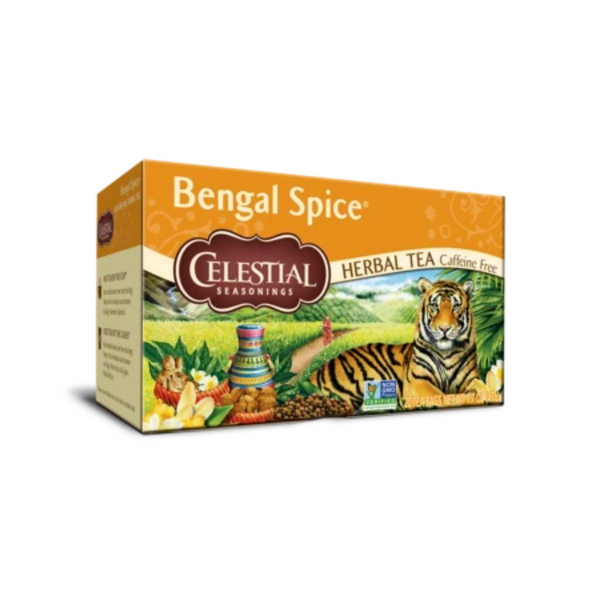 Celestial Seasonings Bengal Spice Herbal Tea 20 Bags