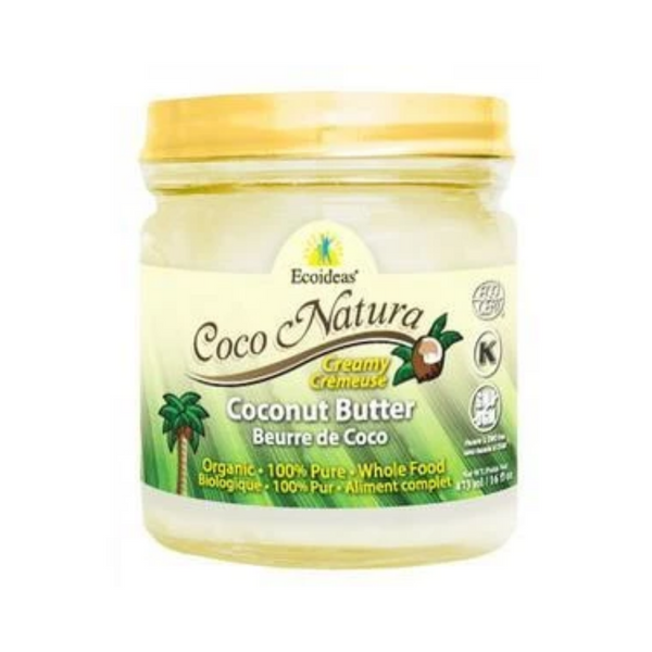 Ecoideas Coco Natura Organic Coconut Butter 473ML