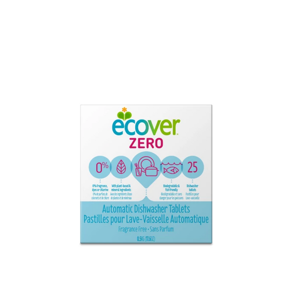 Ecover ZERO Dishwasher Tablets 25tabs