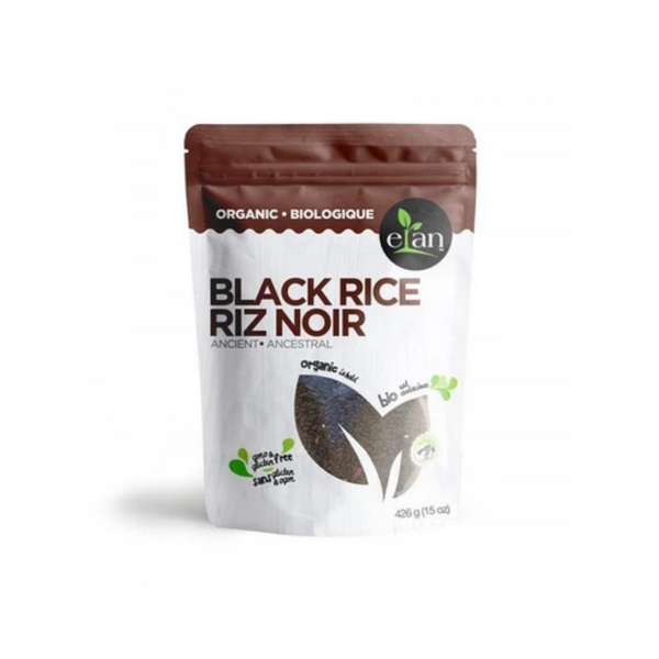 Elan Organic Ancient Black Rice 426G