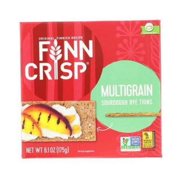 Finn Crisp, Multigrain Sourdough Rye Thins 175G