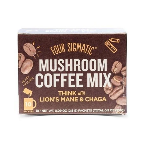 Four Sigmatic Mushroom Coffee Mix with Lion's Mane And Chaga 10 Packs