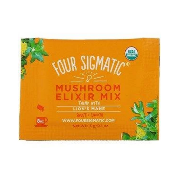 Four Sigmati Lion's Mane Mushroom Elixir Mix 20 Packets
