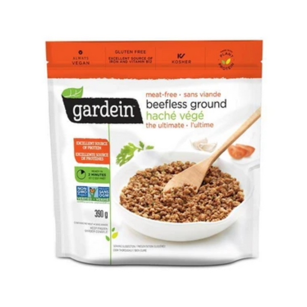 Gardein Gluten-Free Beefless Ground 390G