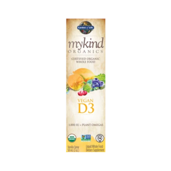 Garden Of Life Mykind Organics Vegan D3 Organic Spray 58ML