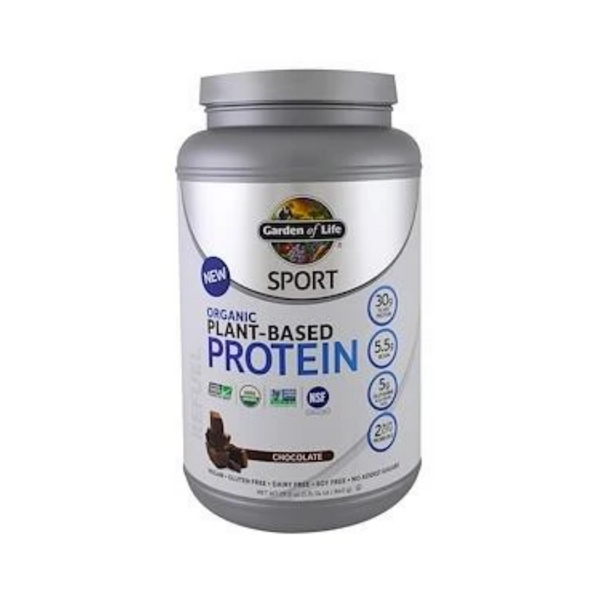 Garden of Life Sport Organic Plant-Based Protein Chocolate 840G