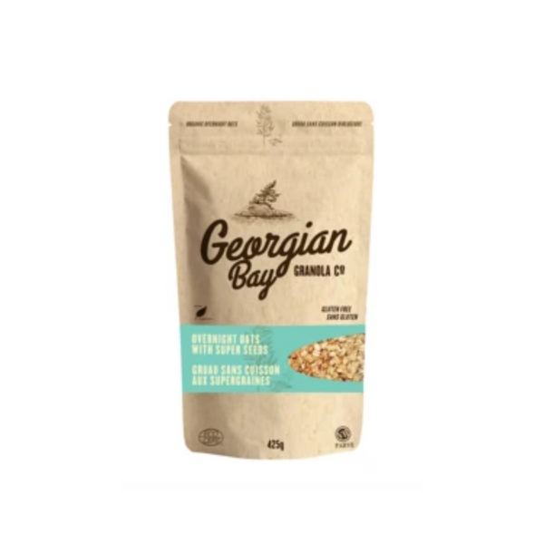 Georgian Bay Granola Company OVERNIGHT OATS WITH SUPER SEEDS 425G