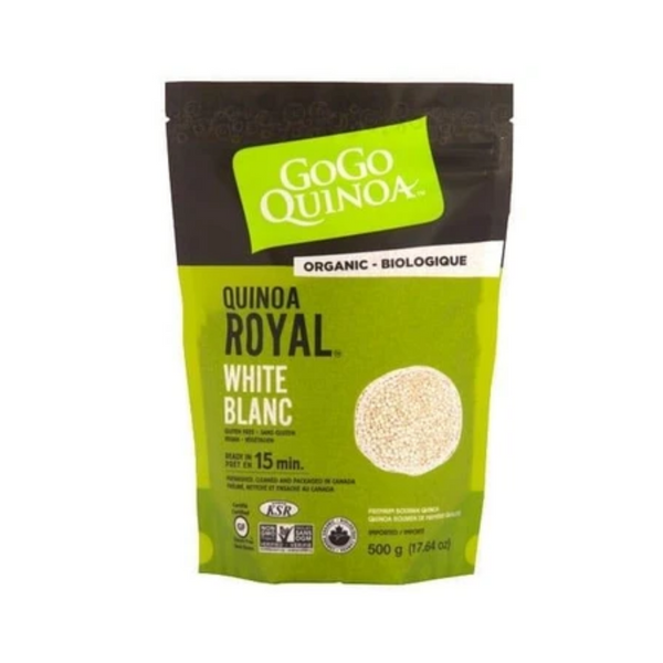 GoGo Organic White Royal Quinoa 500G