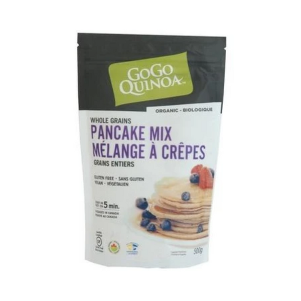 GoGo Quinoa Whole Grains Pancake Mix 500G