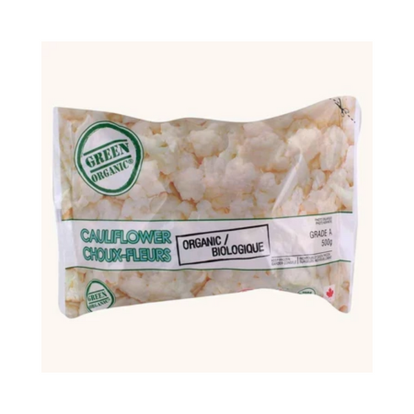 Green Organic Frozen Cauliflower 300G